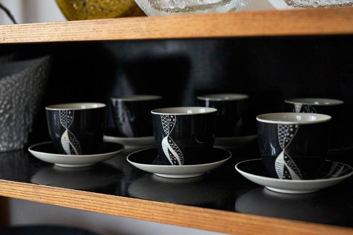 Zestaw do kawy Leszka Nowosielskiego, Chodzież lata 60. © Max Zieliński, Eliza Dunajska dla Patyna.pl