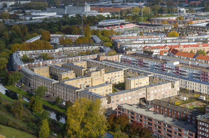Justus van Effencomplex, czyli osiedle z żółtej cegły © World Monuments Fund