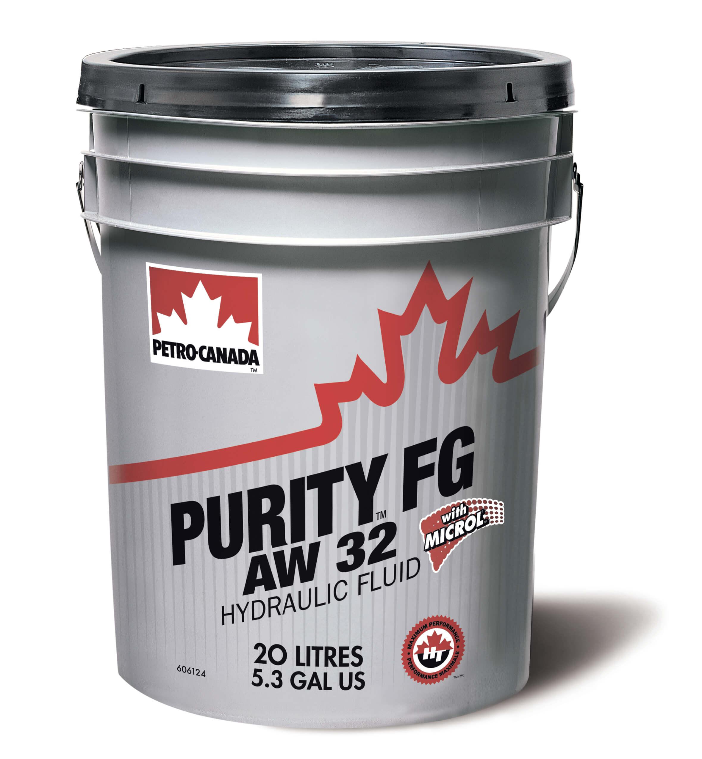 Petro-Canada Purity FG AW Hydraulic Fluid 32