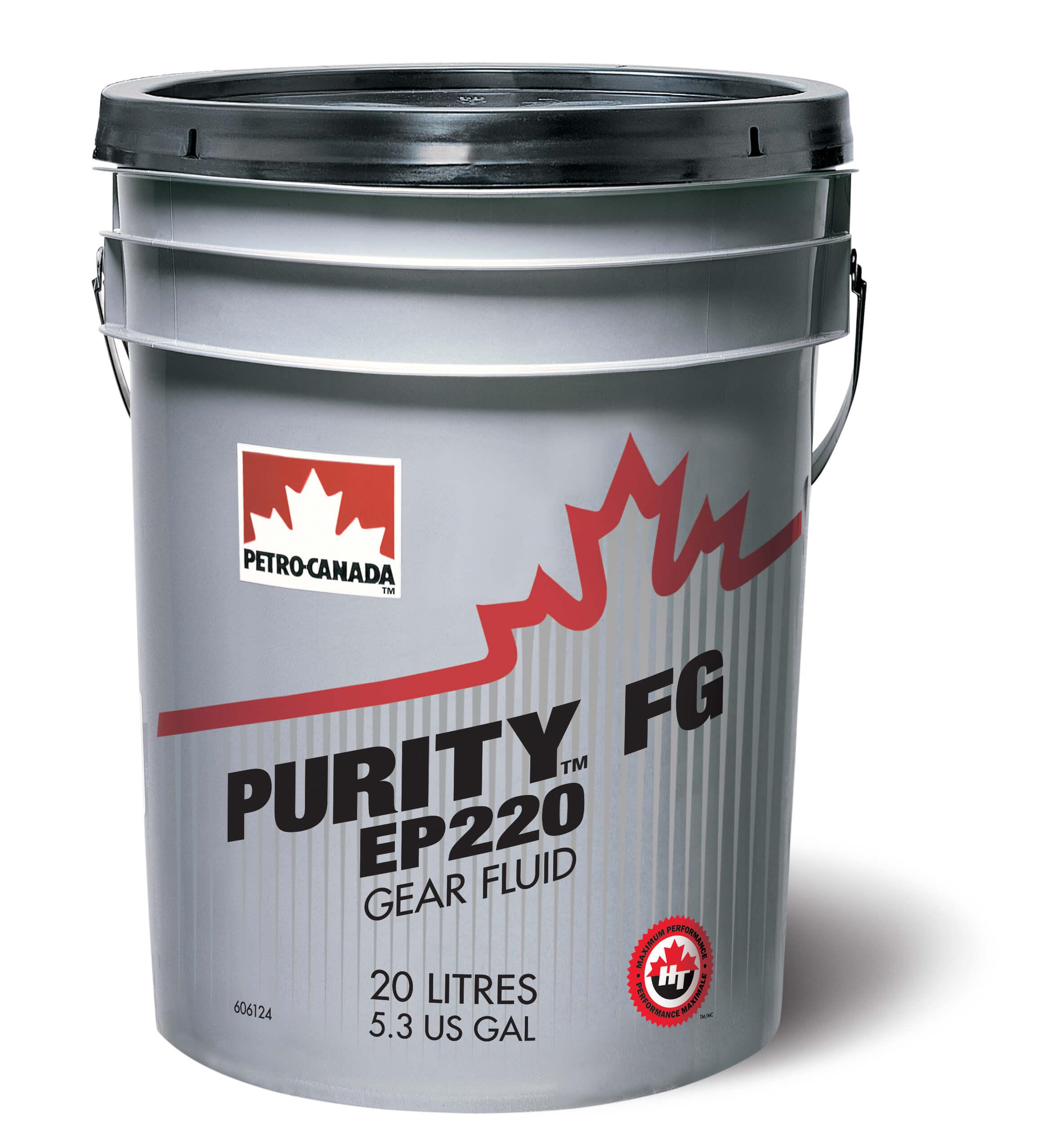 Petro-Canada Purity FG EP Gear Fluid 220