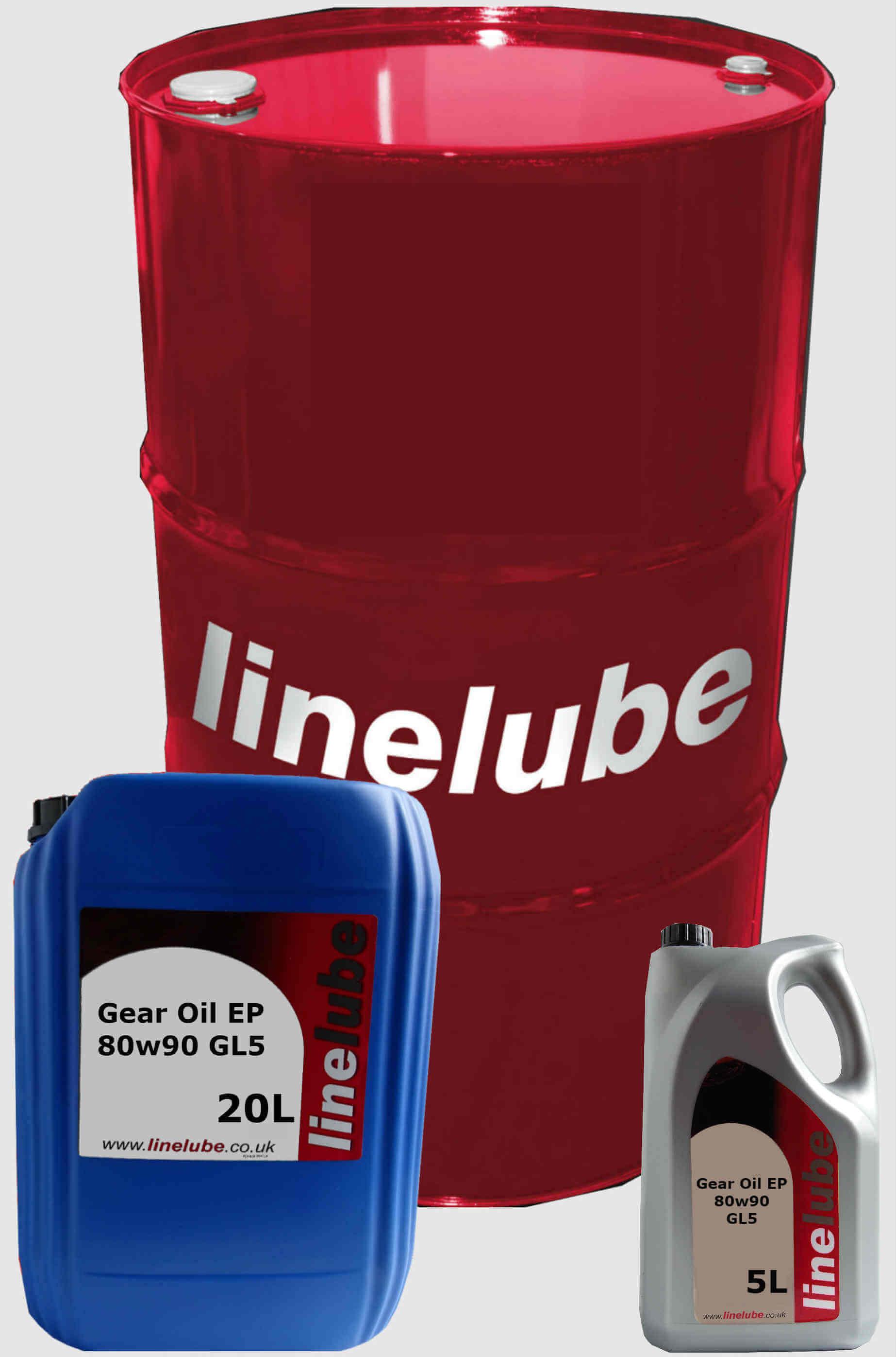 Linelube Gear Oil EP 80w90 GL5