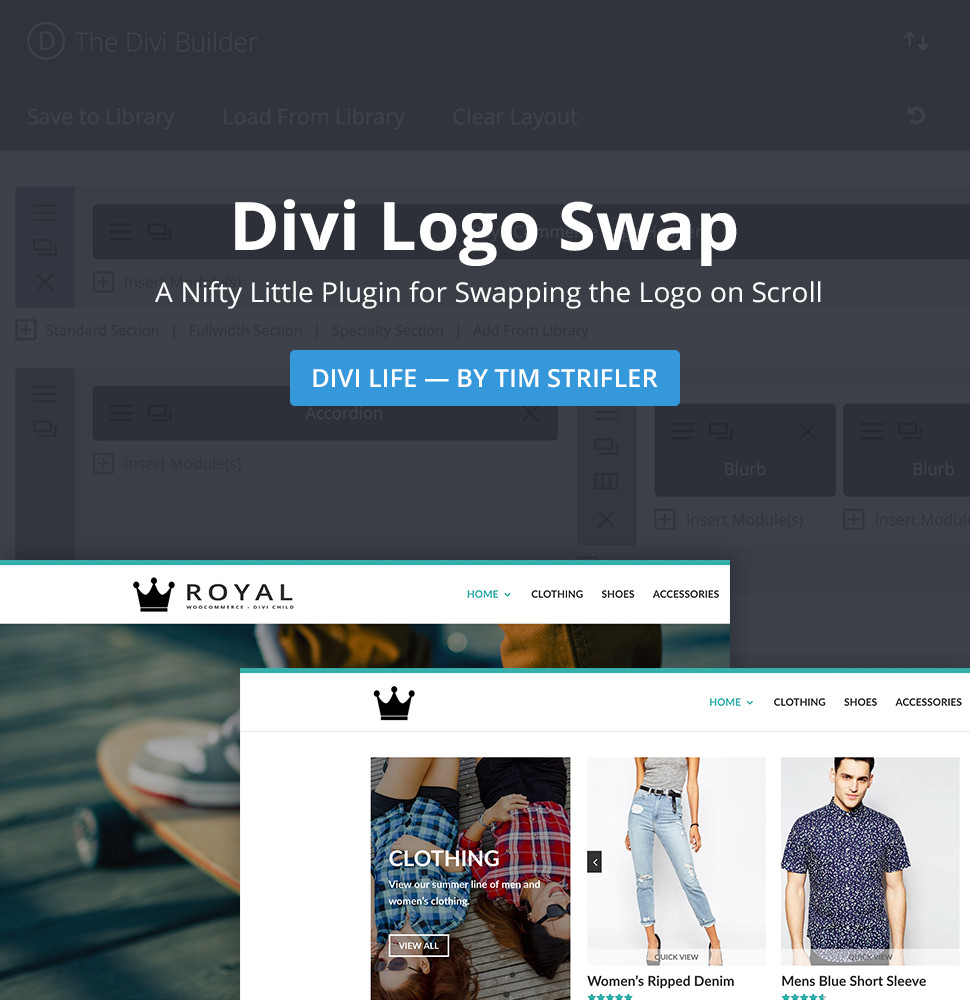 Download Divi Logo Swap