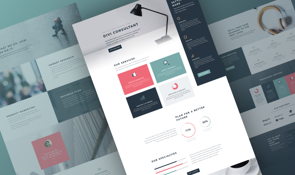 Download Divi Consultant Layout