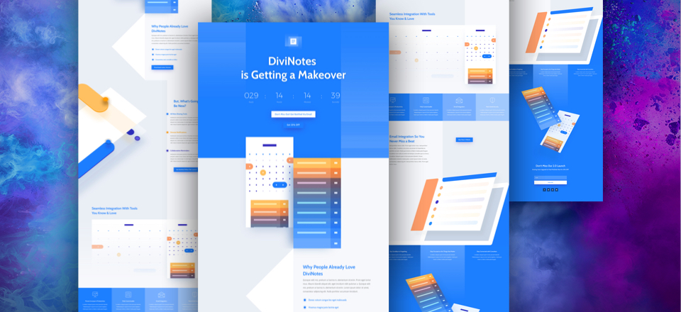Download Divi App Launch Layout