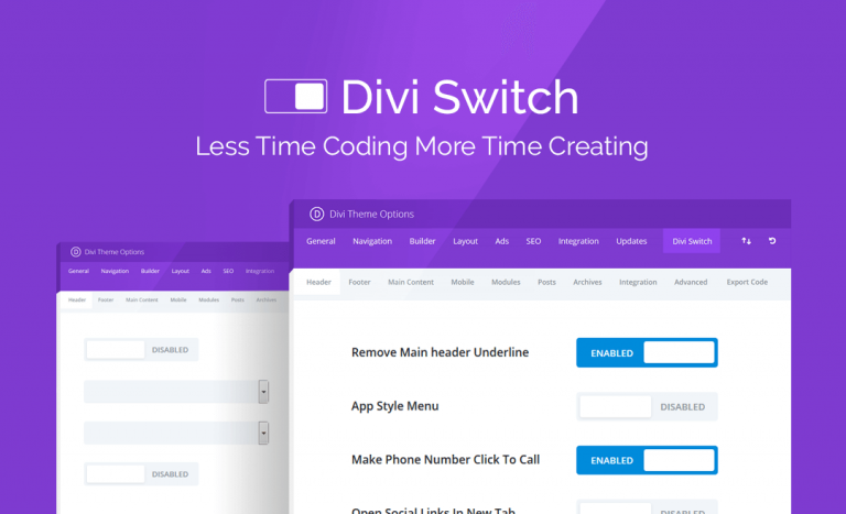Download Divi Switch Plugin