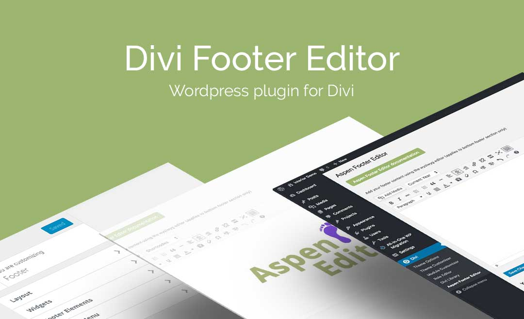 Download Divi Footer Editor