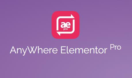 Anywhere Elementor Pro 2.12
