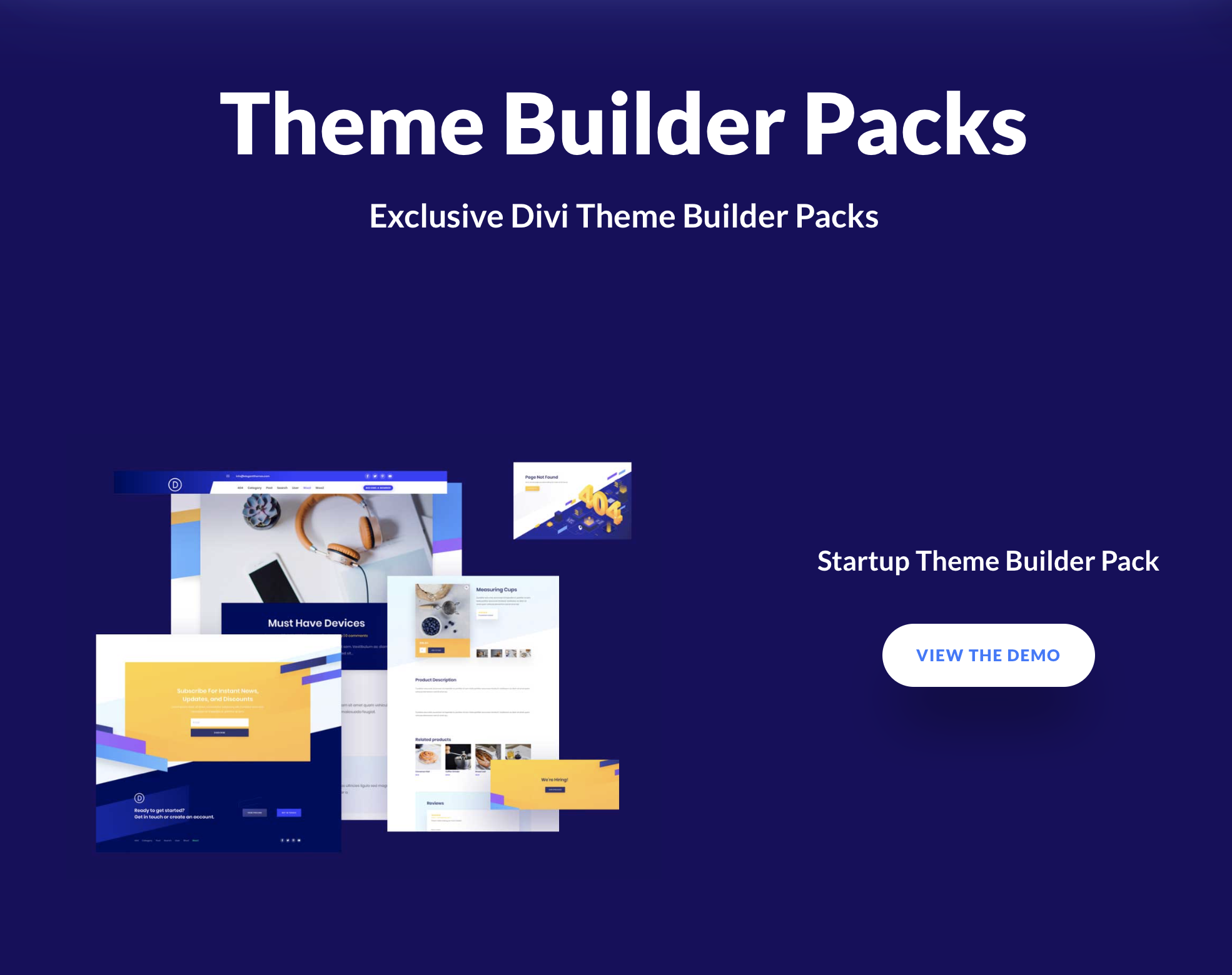 Divi THEME BUILDER TEMPLATES