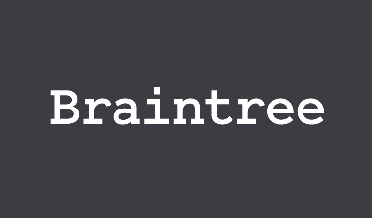 Give Braintree Gateway addon
