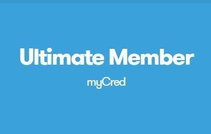 Ultimate Member myCRED