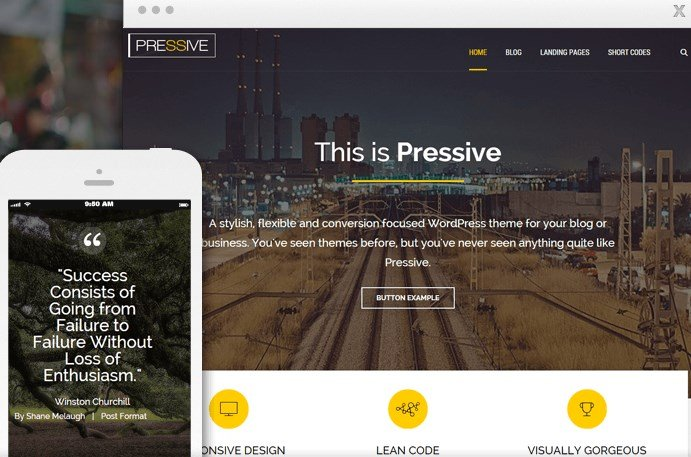 Thrive Themes Pressive WordPress Theme