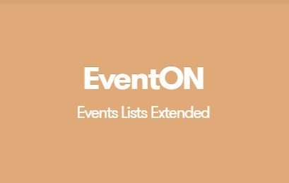 EventON Events Lists Extended Addon