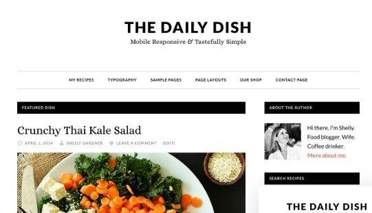 StudioPress Daily Dish Pro Theme