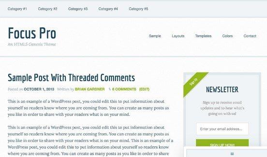 StudioPress Focus Pro Theme