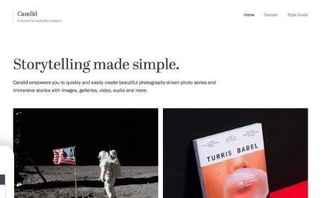 Array Themes Candid WordPress Theme