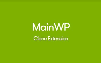MainWP Clone Extension