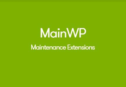 MainWP Maintenance Extension