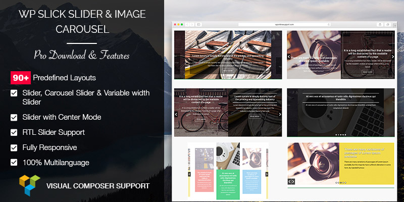 WP Slick Slider and Image Carousel