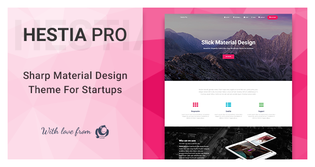 Hestia Pro – Modern Material Design Theme
