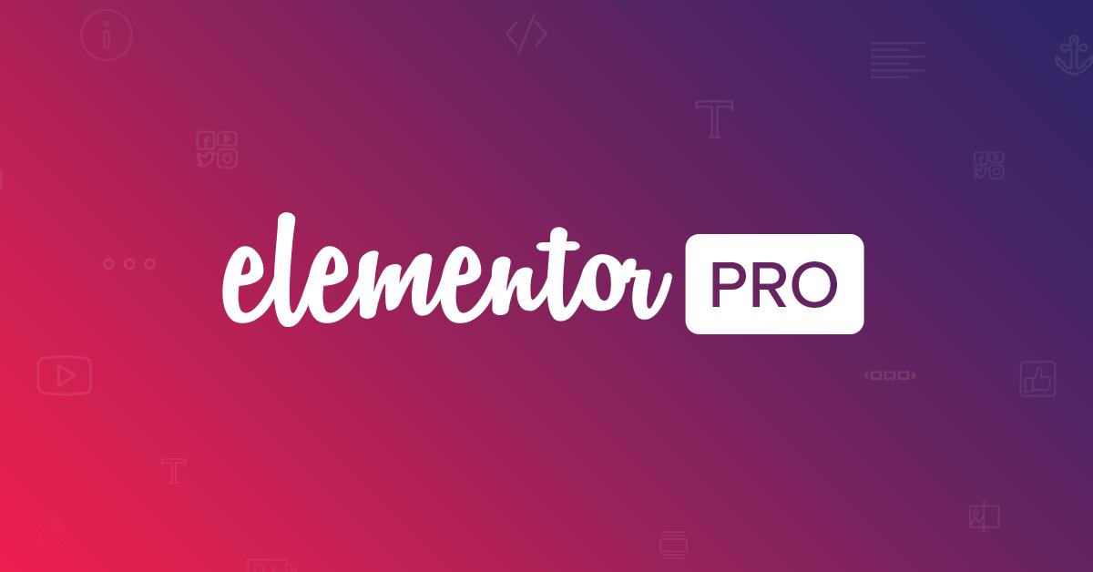 Elementor Pro Old Version