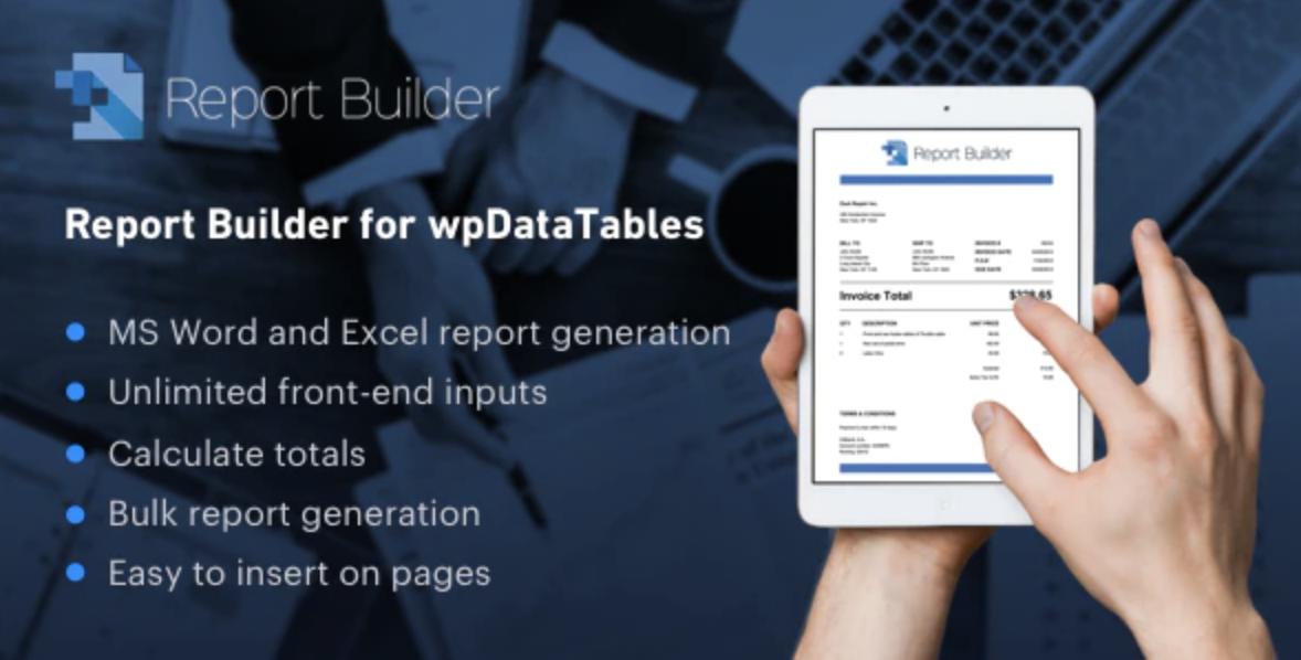 Report Builder for wpDataTables