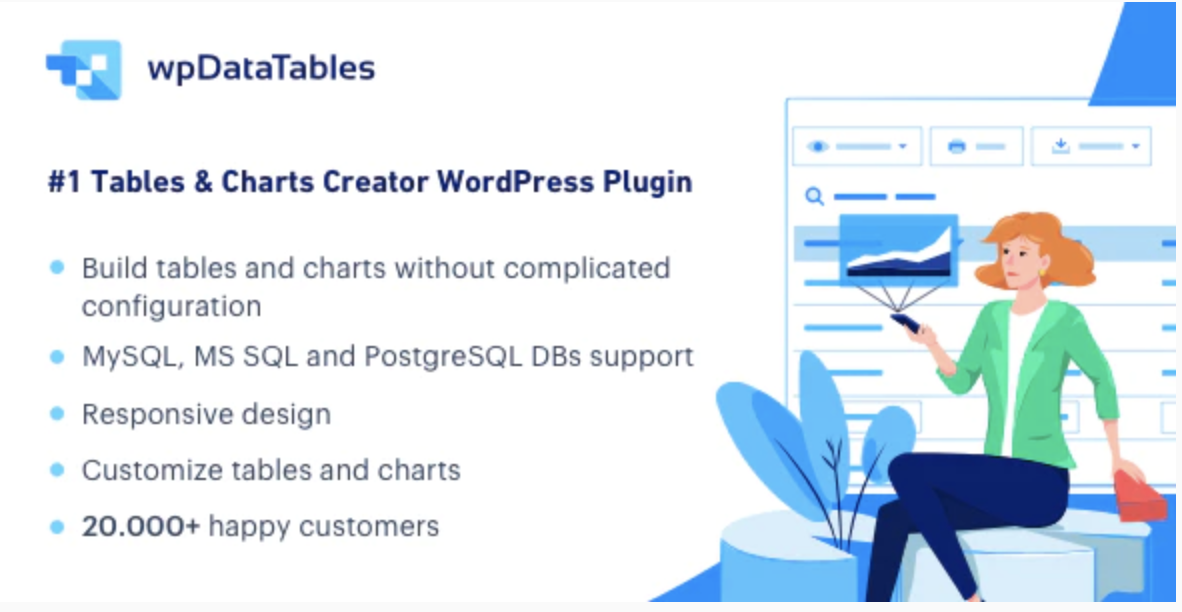 wpDataTables – Tables and Charts Manager