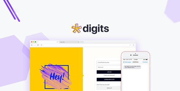 Digits WordPress Mobile Number Signup and Login