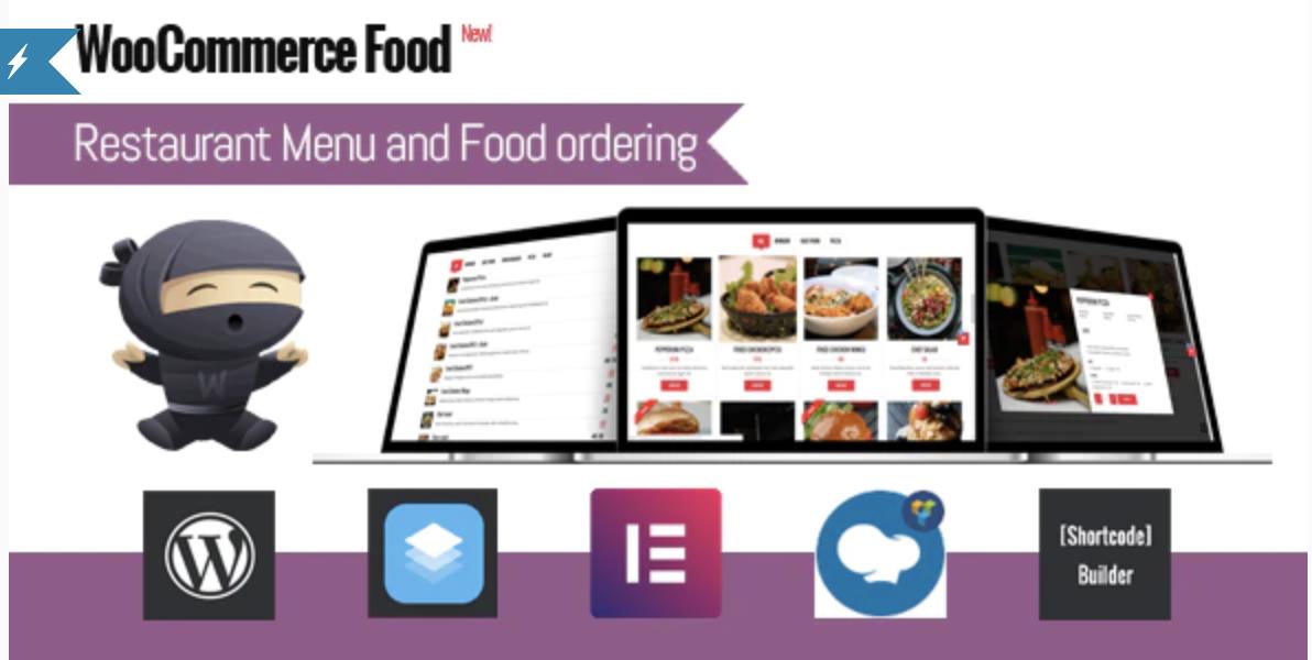 WooCommerce Food – Restaurant Menu & Food ordering