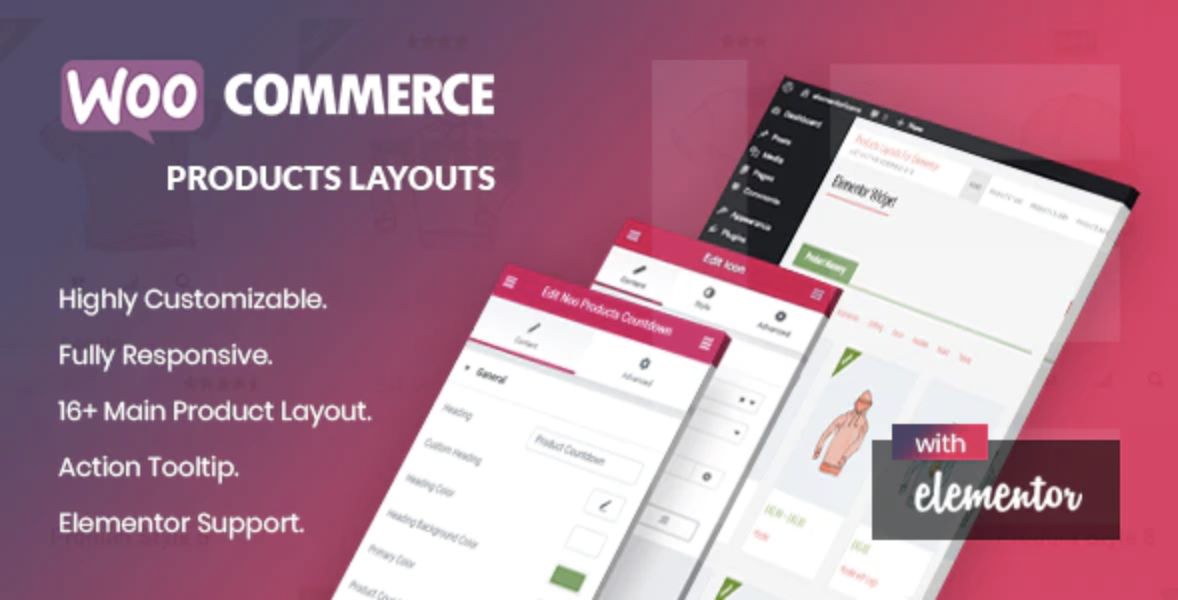 Noo Products Layouts – Elementor Page Builder