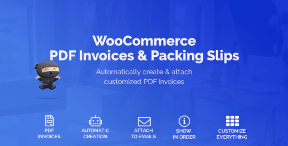 WooCommerce PDF Invoices & Packing Slips