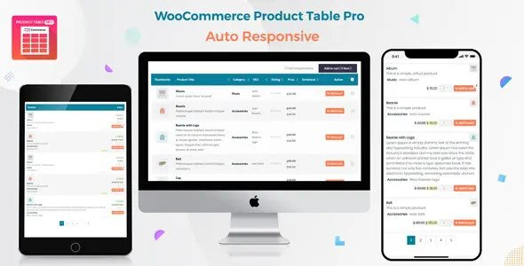 Product Table Pro – Making Quick Order Table