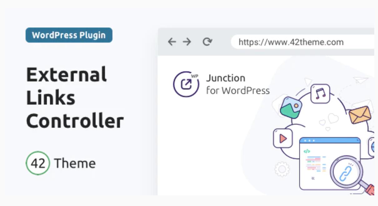 Junction — External Links Controller for WordPress