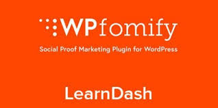 WPfomify – LearnDash Add-on features