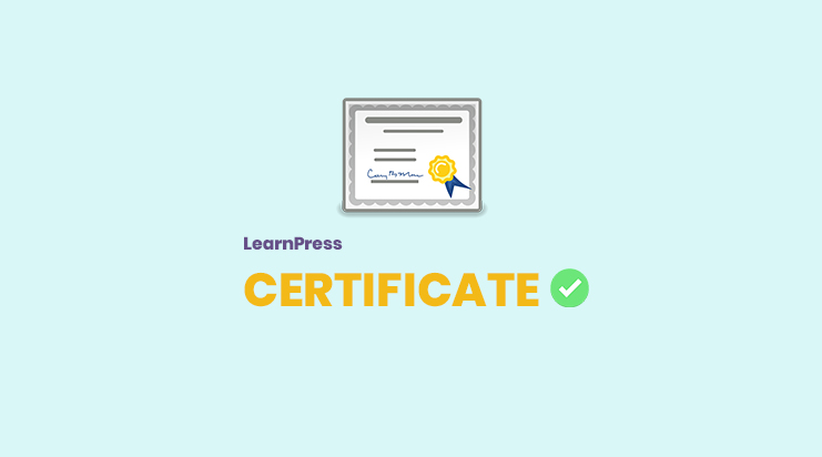LearnPress Certificates Add-on