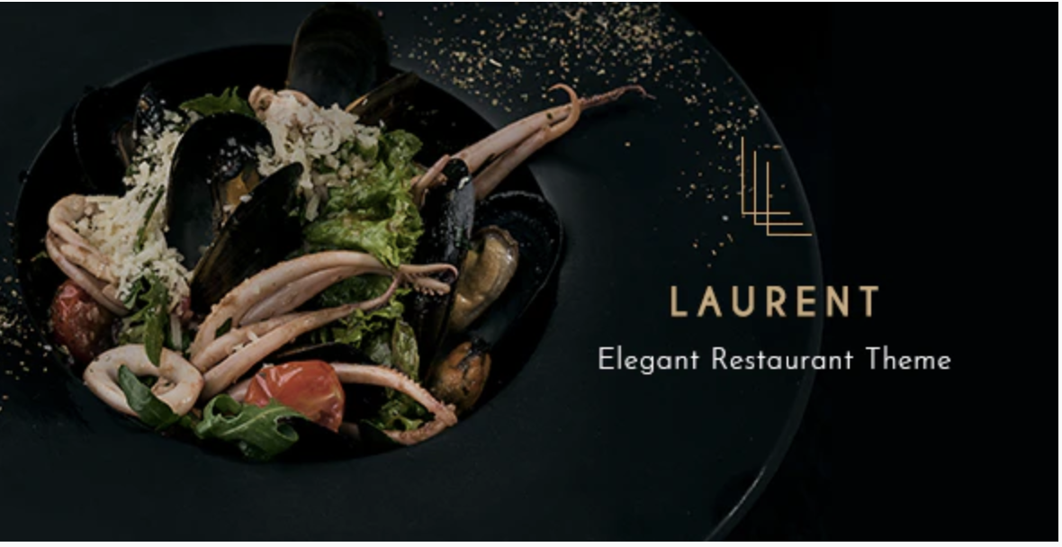 Laurent Elegant Restaurant Theme