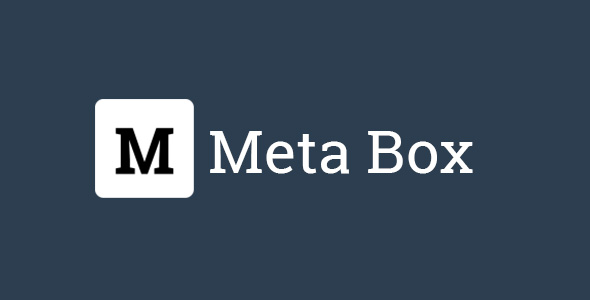Meta Box User Avatar