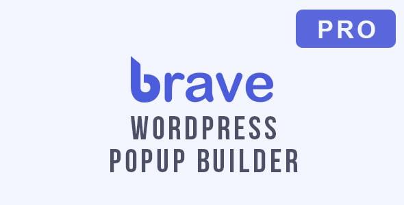 Brave WordPress Popup Builder Pro