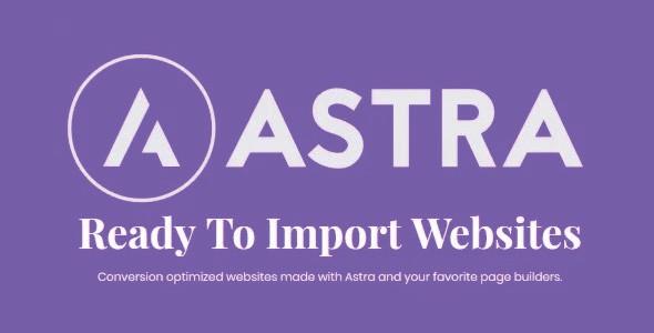 Astra Premium Starter Templates