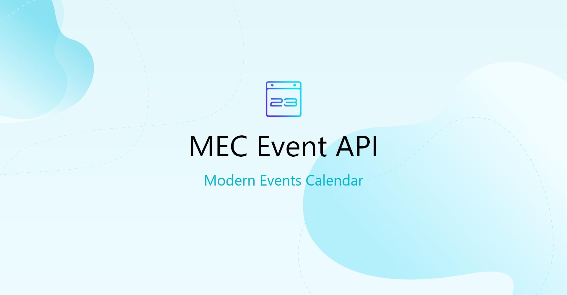Event API for MEC