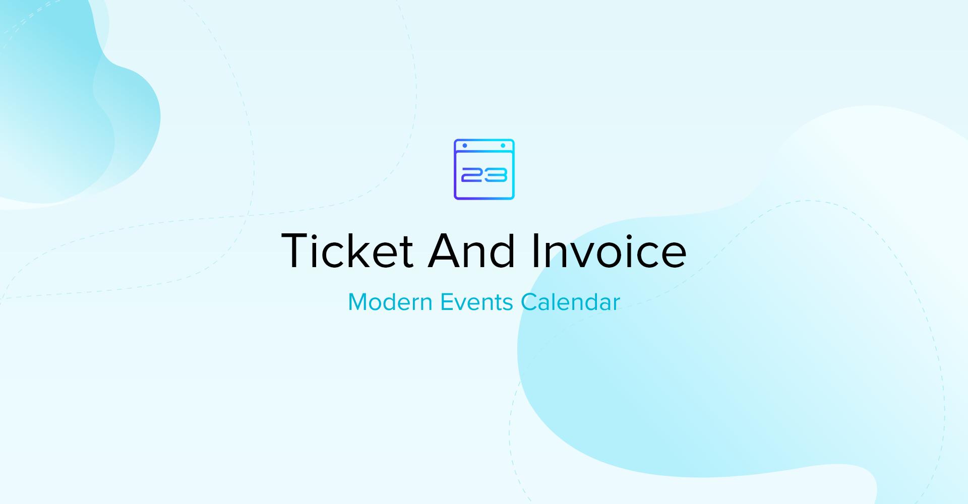 Ticket and Invoice MEC 1.2.6