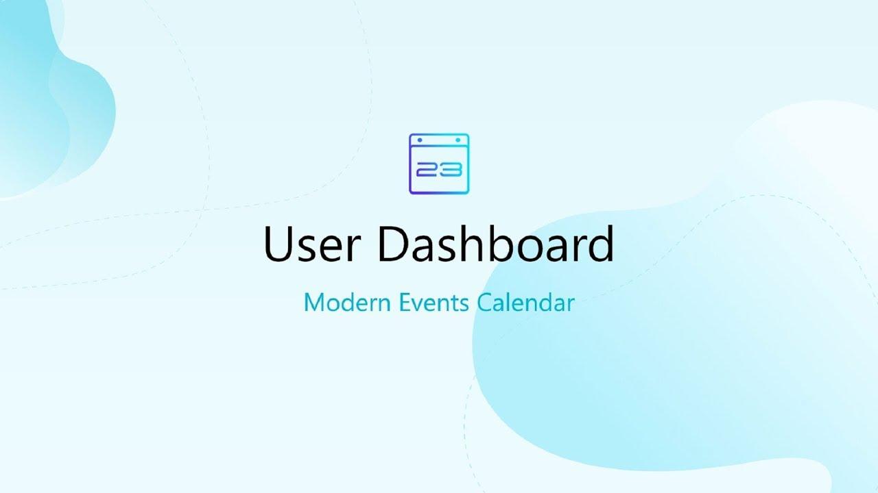 User Dashboard for MEC