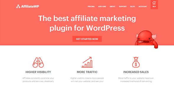 AffiliateWP Core Wordpress Plugin