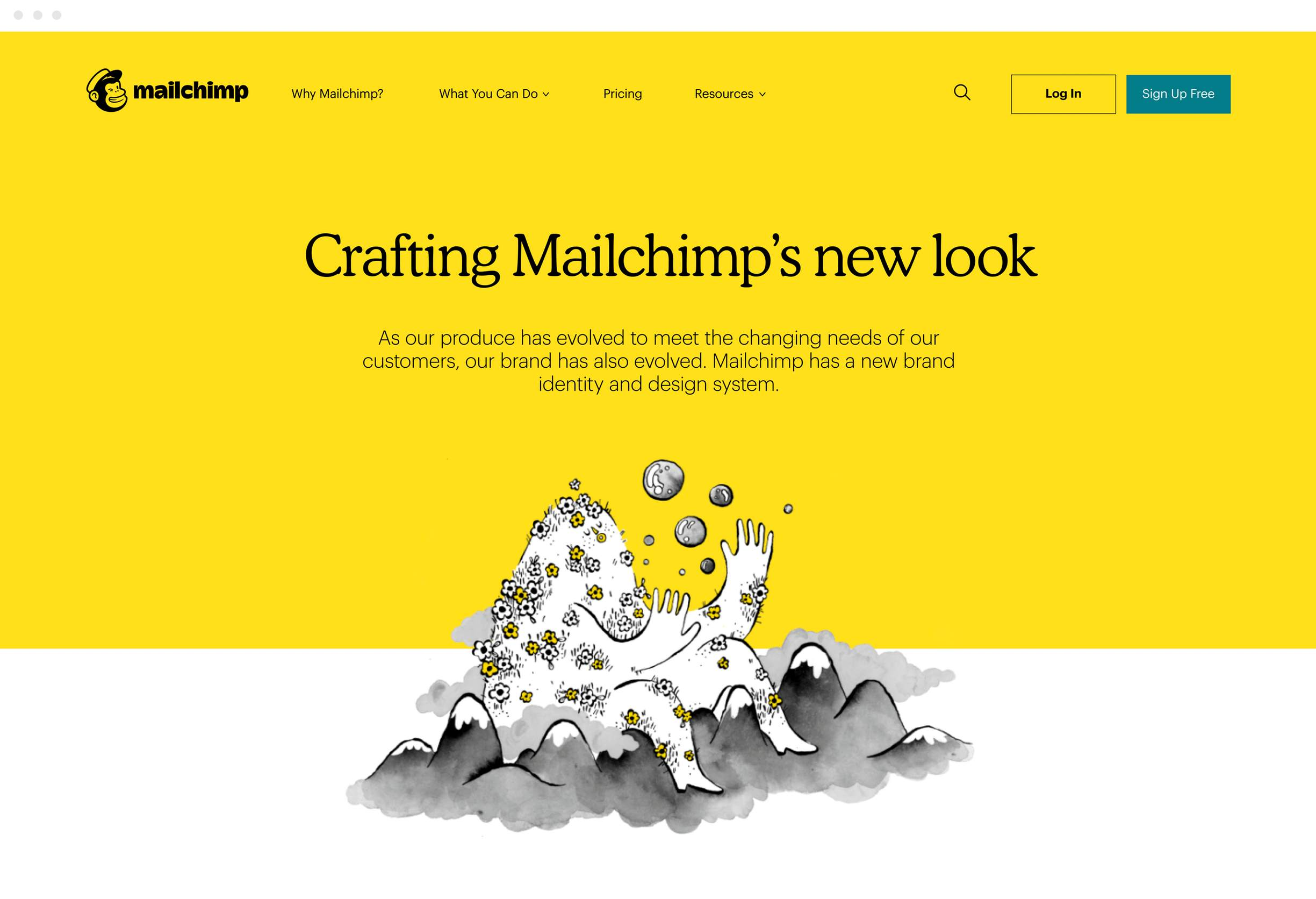 The subtle technique that Mailchimp uses to emotionally hook