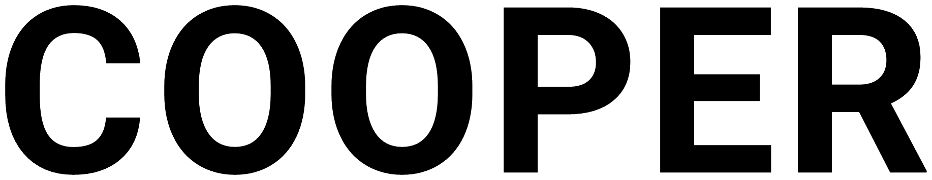 text CooperX logo