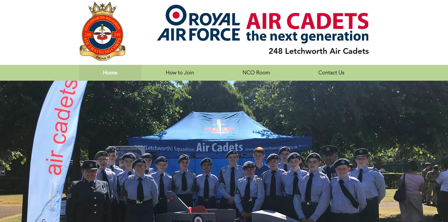 248 Letchworth Air Cadets website