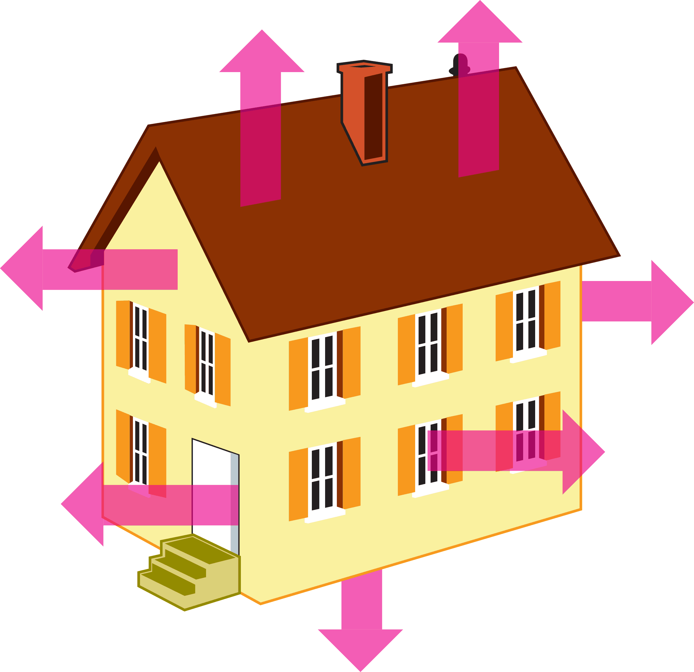 Ways To Prevent Heat Loss La Construction Heating And Air