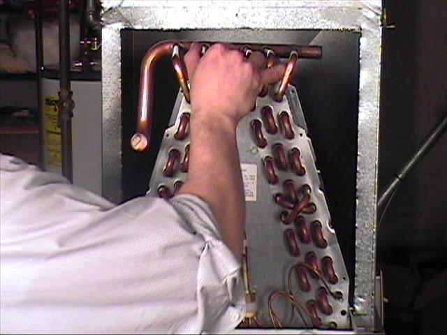 dirty evaporator coil