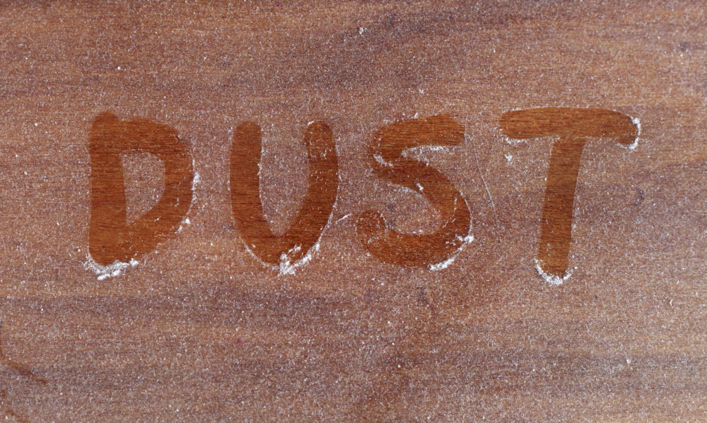 dusty home