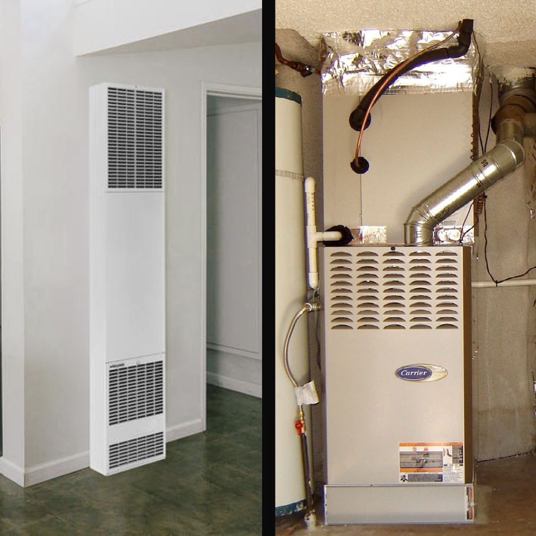 Wall heaters vs. furnaces