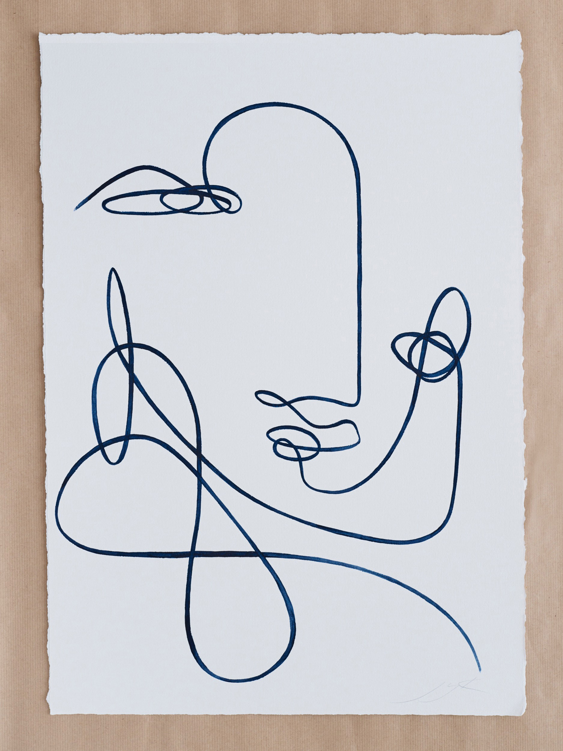 Scrambled (42 x 59 cm)